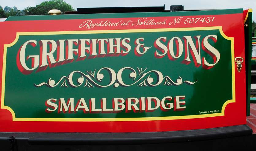 Canal boat painters & canal boat sign writers